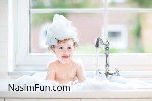 کودکان را هر چند روز یکبار حمام ببریم؟