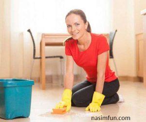 روش تمیز کردن سرامیک و کاشی