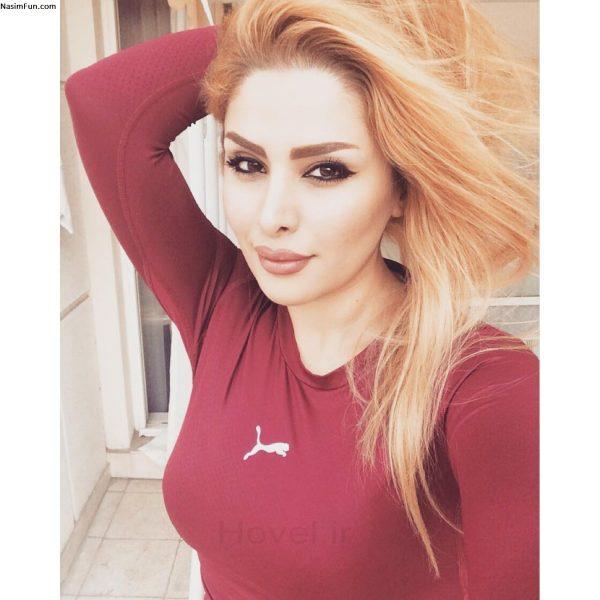 دنیا جهانبخت مدل ایرانی در تبلیغ یک بانک + تصاویر