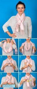 بستن شال گردن