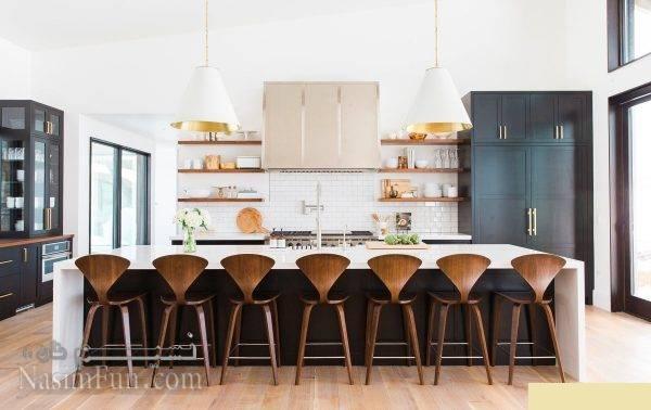 طرح های بسیار زیبا و متفاوت صندلی آشپزخانه