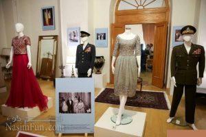 نمایشگاه لباس های فرح پهلوی