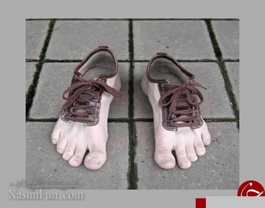 عجیب ترین مدل های کفش در جهان + عکس