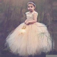 انواع مدل های لباس عروس بچه گانه ترک و اروپایی ۲۰۱۶-۲۰۱۷