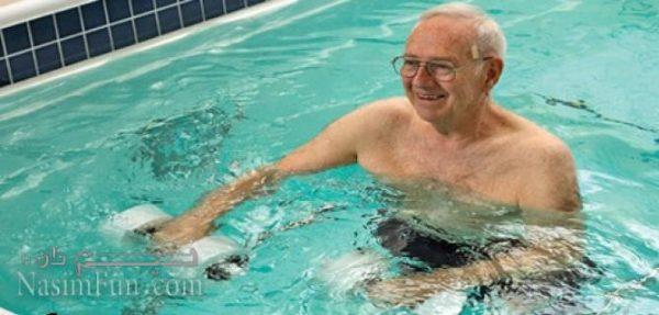ورزش درمانی در آب