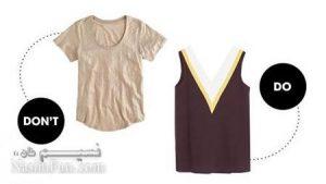 اصول لباس پوشیدن افراد لاغر