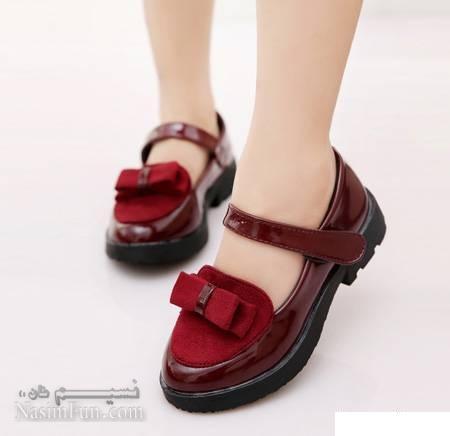 مدل های شیک کفش بهاری دخترانه+عکس