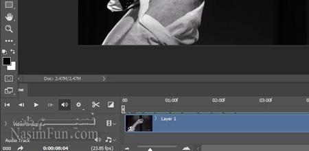 ساخت تصاویر متحرک در فتوشاپ+اموزش