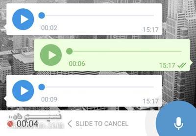 اموزش تبدیل اهنگ به ویس(voice)در تلگرام