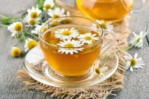 چای بابونه و خواص آن برای کودکان