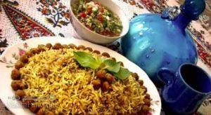 طرز تهیه کلم پلو مجلسی و اصیل شیرازی + فیلم آموزشی