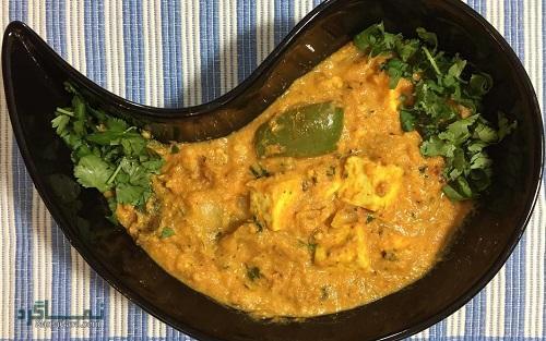طرز تهیه خورشت کاری هندی + تزیین