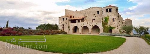 قلعهای متعلق به قرون وسطا که پاول دوروف جشن تولد سی و دو سالگی خود را به همراه تیم تلگرام در آن جشن گرفت. او این قلعه را یک هفته اجاره کرده بود. (العهده علی الراوی!)