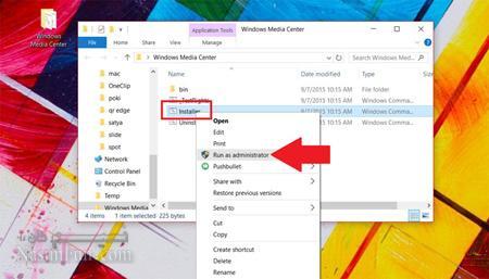 اموزش نصب Windows Media Center در ویندوز 10