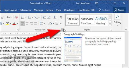 جلوگیری از دو تکه شدن یک پاراگراف در میان صفحات در Word