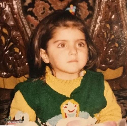 عکس کودکی هلیا امامی