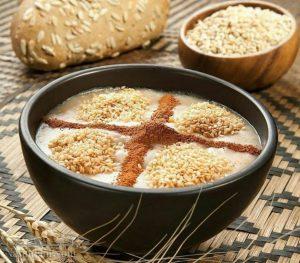 طرز تهیه حلیم گندم با مرغ و گوشت مجلسی و مخصوص افطاری + فیلم آموزشی