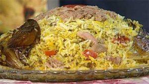 طرز تهیه پلو بندری (جنوب ایران) با ماهی تن سنتی و خوشمزه + فیلم آموزشی