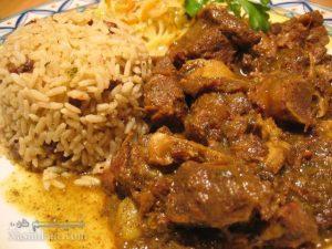 آموزش کامل طرز تهیه پلو مرغ آفریقایی به سبک اصیل و فوق العاده خوشمزه