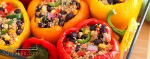 طرز تهیه دلمه سبزیجات رژیمی و متفاوت + فیلم آموزشی