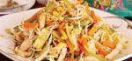 طرز تهیه خوراک مرغ و سبزیجات مجلسی به سه روش + فیلم آموزشی
