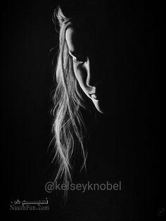 عکس پروفایل سیاه دخترانه