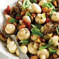 طرز تهیه خوراک قارچی مجلسی با طعمی عالی و خوشمزه + فیلم آموزشی
