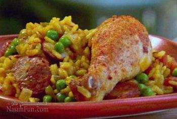 طرز تهیه خوراک مرغ ایتالیایی اصل و خوشمزه با سس مخصوص + فیلم آموزشی