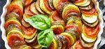 طرز تهیه خوراک راتاتویی رژیمی و اصل فرانسوی برای گیاهخواران + فیلم آموزشی
