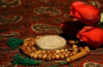عکس پروفایل مهر و تسبیح