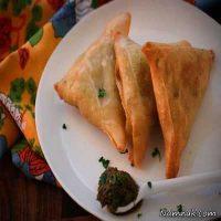 طرز تهیه سمبوسه تونسی