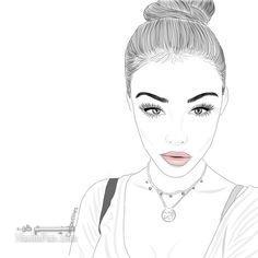عکس نقاشی دخترونه شیک وزیبا