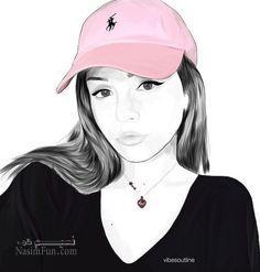 عکس پروفایل دخترانه کارتونی باکلاس