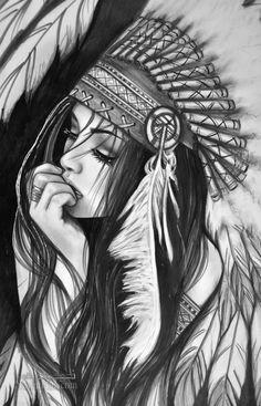 عکس پروفایل نقاشی دخترانه خاص وشیک