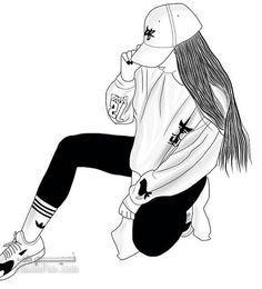 عکس پروفایل دخترانه نقاشی زیباوباکلاس