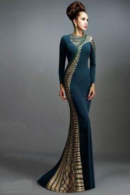 لباس مجلسی شیک زنانه