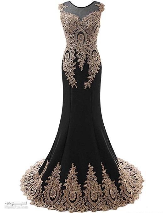 زیباترین مدل لباس مجلسی بلند زنانه و دخترانه ۲۰۱۸_۹۷