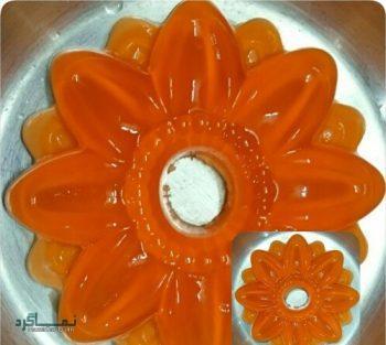طرز تهیه ژله بستنی پرتقالی شیک