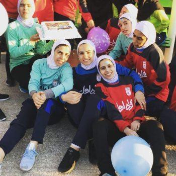 بیوگرافی مهسا کمالی فوتسالیست با استعداد و همسرش