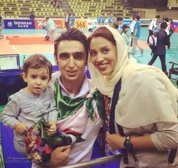 بیوگرافی پوریا فیاضی و عکس های همسرش