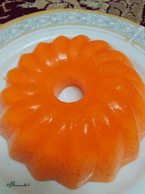 ژله بستنی پرتقالی