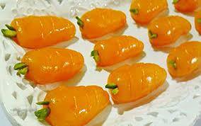 طرز تهیه ایده جدید ژله به شکل هویج لذیذ و زیبا