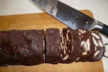 طرز تهیه شکلات بیسکویتی شیک + تزیین