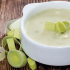 طرز تهیه سوپ تره فرنگی مجلسی با سیب زمینی و خامه + فیلم آموزشی