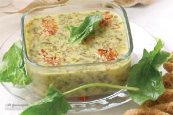 طرز تهیه سوپ ترخینه مجلسی (غذای محلی کرمانشاه) + فیلم آموزشی