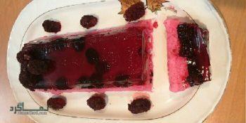 طرز تهیه ژله شاتوت بستنی خوشمزه + فیلم آموزشی