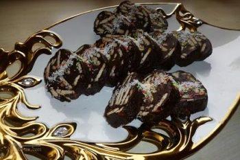 طرز تهیه شکلات بیسکویتی خوش طعم و شیک