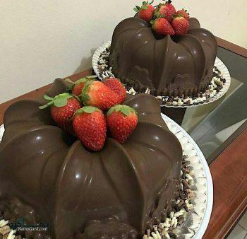 طرز تهیه دسر پاناکوتا شکلاتی خوشمزه + تزیین