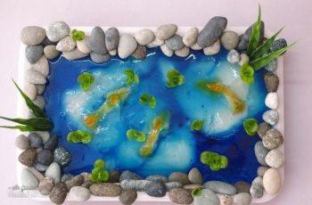 ژله دریاچه ماهی