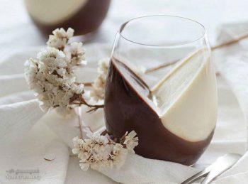 طرز تهیه پاناکوتا وانیلی شکلاتی خوش طعم و مجلسی